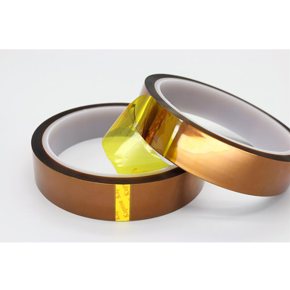1Pc Width 5/6/8/10MM Length 30m Heat Resistant Polyimide Tape High Temperature Adhesive Insulation Tape For BGA PCB SMT