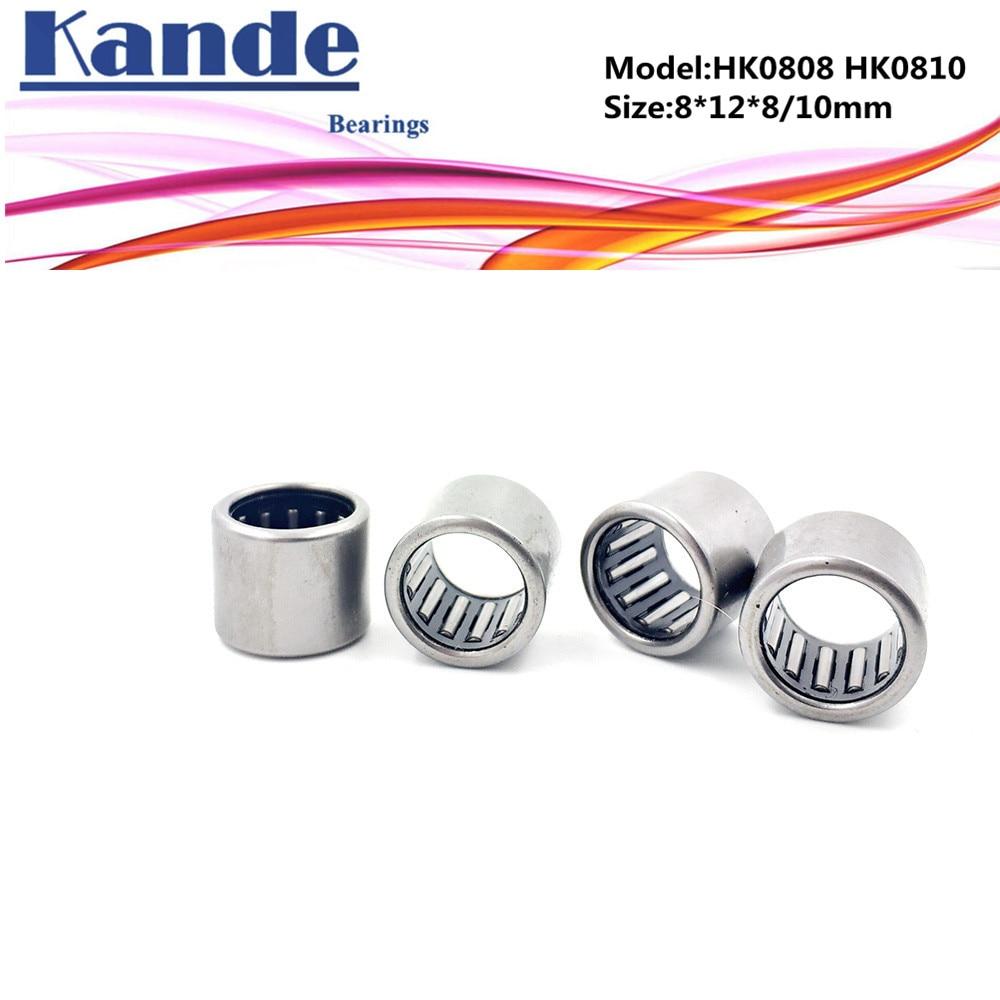 10 PCS Needle Roller Bearing Bearings 4*8*8 HK0408 4x8x8 mm