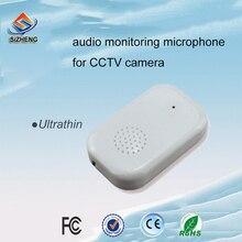 SIZ-140มินิ-ฟัง-อุปกรณ์เสียงไมโครโฟนเสียงตรวจสอบหัวรถกระบะสำหรับกล้องวงจรปิด SIZHENG