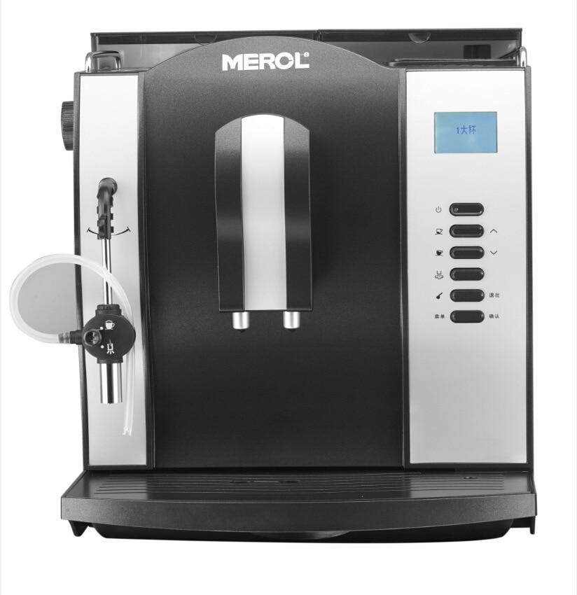все цены на ALDXC25-ME-708,Commercial Italian full automatic steam coffee machine office wholesale Black Silver онлайн