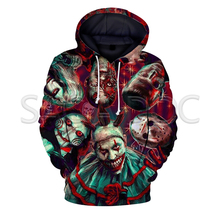 WGTD WISH Halloween Killers Chuncky/Freddy/Jason 3D Print Women Men Streetwear