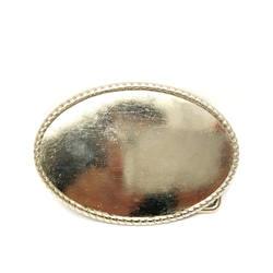 Западная металлической пряжкой Древний серебряный письмо мужчины пряжка на ремешке для 4.0