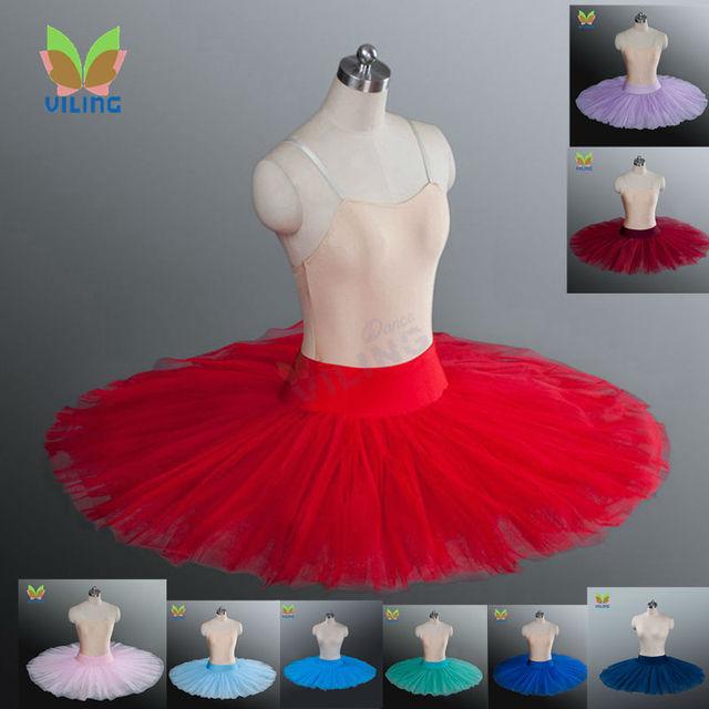 Baletowa spódniczka tutu profesjonalna próba tutu półmisek baletowa spódniczka tutu s ćwicząca pół baletowa spódniczka tutu naleśnik pół tutus dla dziewczynek