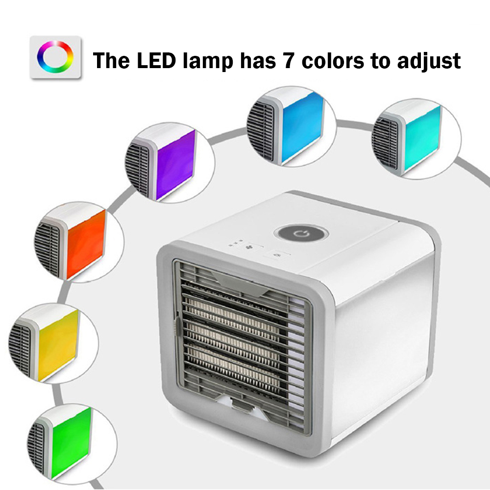 HTB1N4nQKMTqK1RjSZPhq6xfOFXaz USB Mini Portable Air Conditioner Humidifier Purifier 7 Colors Light Desktop Air Cooling Fan Air Cooler Fan for Office Home Usb