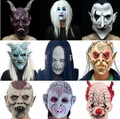 New Best Price Monster Adult Latex Full Head Face Breathable Halloween Mask Fancy Dress Party Cosplay Costume Theater Toy