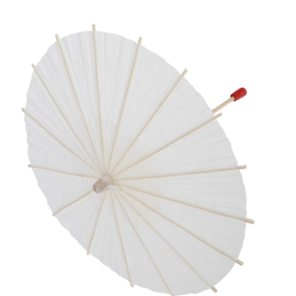 3 Packs Oil Paper Parasol DIY Unpainted 1//3 BJD Doll Accessories Decoration