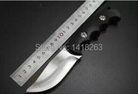 High Quality 7Cr13 Outdoor Wild Jungle Survival Camping Hunting Knives Handle Keel Small Straight Knife
