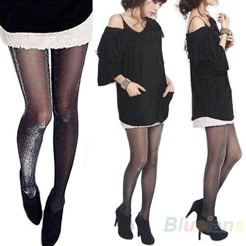 Shiny Pantyhose Glitter Stockings Womens Glossy Tights 005E