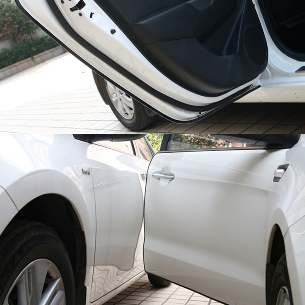 Car Bumper Strip with Imported Soft Rubber Material for Door Edge Protection
