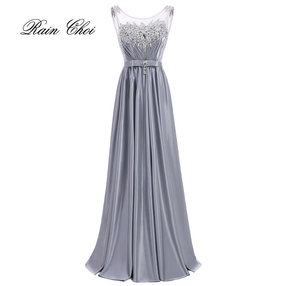 Elegant cheap bridesmaid gown satin wedding party dress for Wedding party dresses cheap