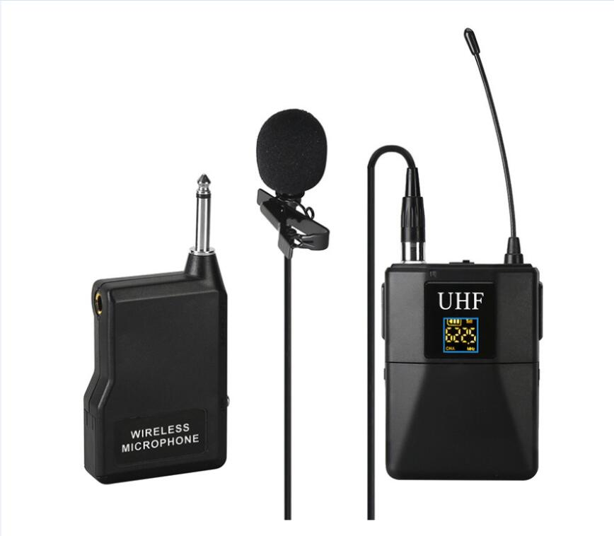 Professional UHF Lavalier Wireless Microphone U8 Condenser Mic for Speech Teaching Classroom Microphone Headset Transmitter Sets(China)