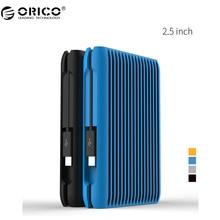 """ORICO 2.5 """"1 TB 10 Gbps HDD USB3.1 Gen2 TYPE-C Unidades de Disco Duro de Alta Velocidad de Disco Duro Móvil de Escritorio Del Ordenador Portátil A Prueba de Golpes (MS2510)"""