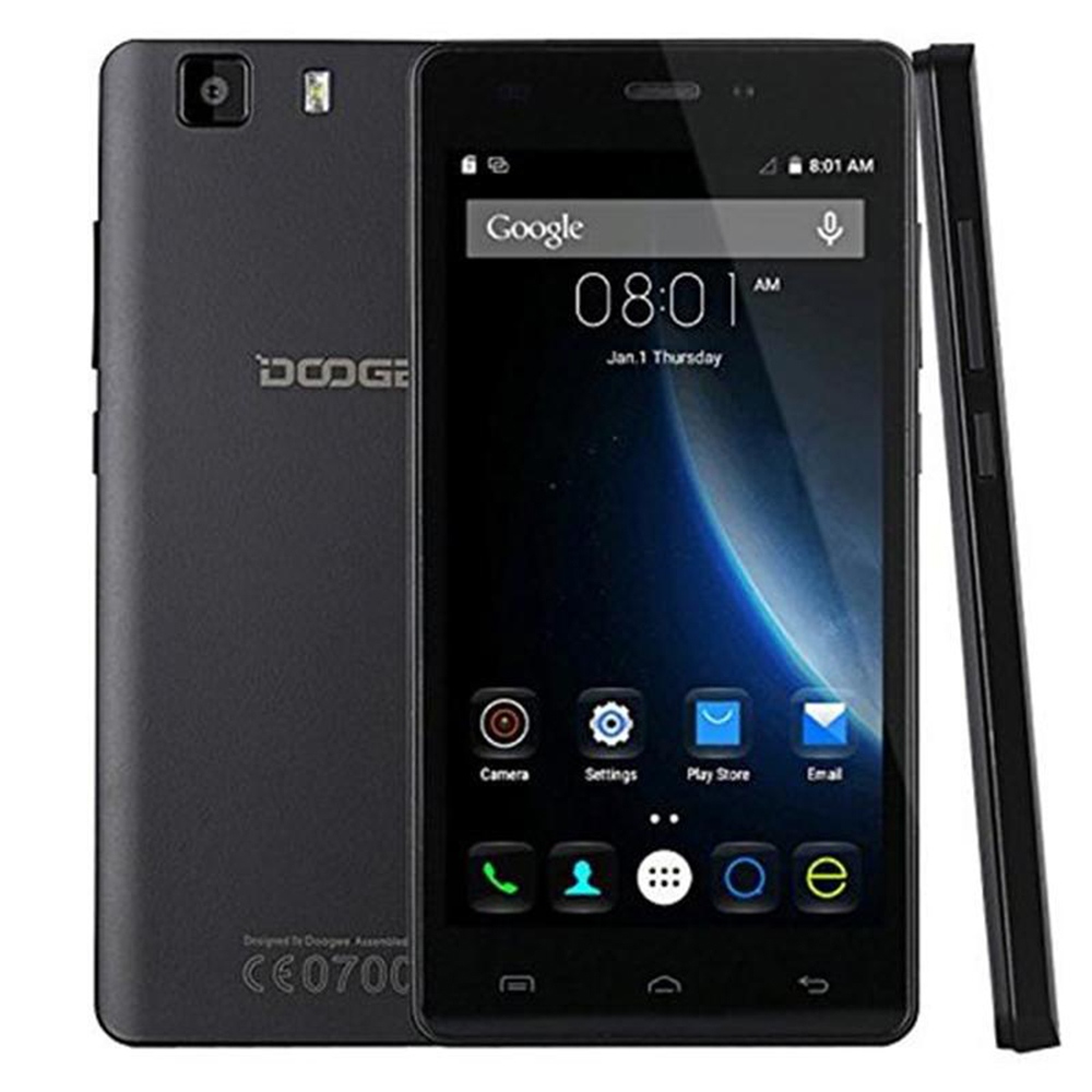 "Original Doogee X5 / Doogee X5 PRO MTK6580 Unlocked Android Smartphone 5.0"" HD 1280*720 IPS Quad Core 8GB ROM WCDMA Mobile Phone"