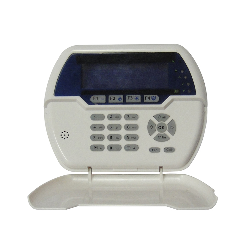 433MHz LCD Keypad PB-502R Nice Design Two-Way Password Keypad Built-in Rechargeable Battery or Charge Through USB Cable hot selling wireless two way keypad with lcd back light usb port to charge