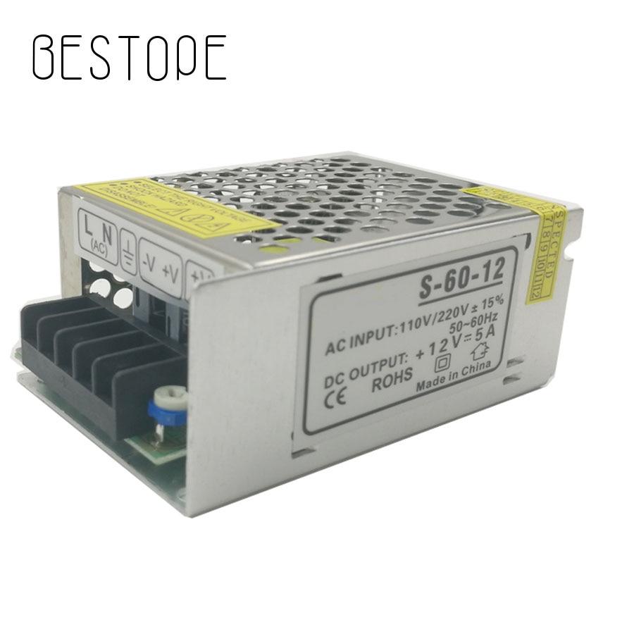 BESTOP DC 12V 1.25A 2A 3A 5A 78W 10A 15A 25A 30A 33A AC 110V-220V Converter power Adapter DC 12V Power Supply EU Plug