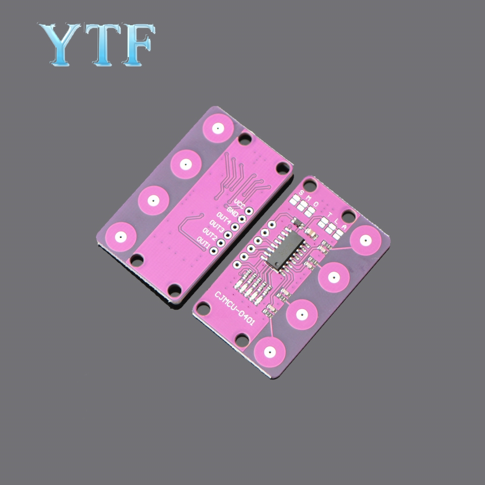 CJMCU-0401 4-bit Button Capacitive Touch Proximity Sensor With Self-locking Function For Arduino Sensor Board Lowest Price