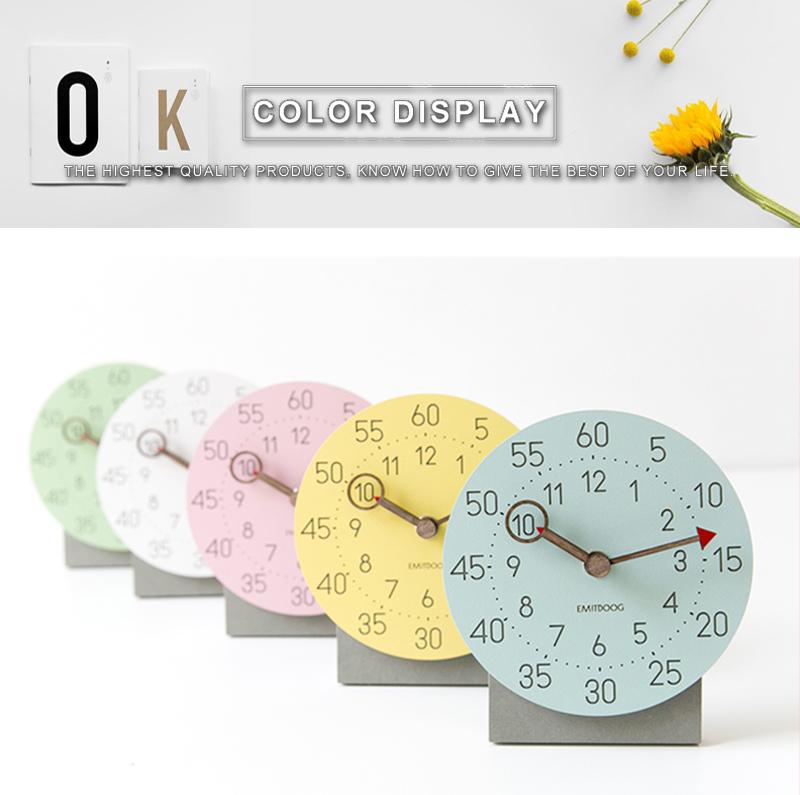 retro clock with time projection clock vintage reloj mesa vintage reloj antiguo automobile clock alarm clock bedroom clock clock flip watch table table clock (3)
