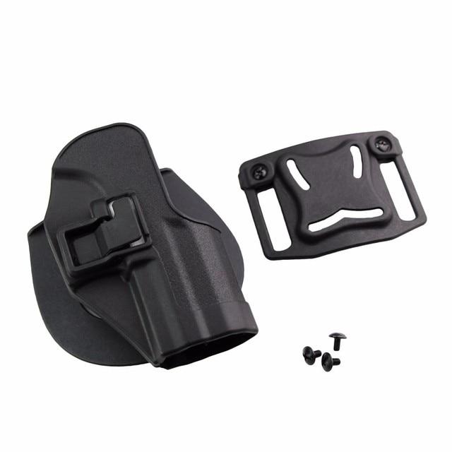 CQC Gun Holster tactical Hunting Airsoft Belt Pistol Holster for HK USP Compact Black/Green/Tan 2