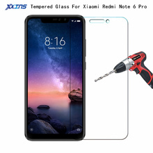 9H Tempered GLASS For Global Version Xiaomi Redmi Note 6 Pro 3GB 4GB 32GB 64GB Smartphone Snapdragon 636 Screen Protective Film