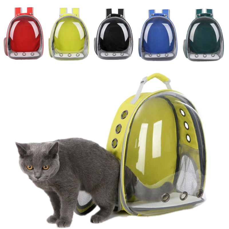 Outdoor Space Capsule Cat-carrying Backpack Pet Cat Backpack for Kitty Puppy Chihuahua Small Dog Carrier Crate Travel Bag pet carrier backpack red