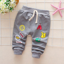 Baby Boys Girls Pants Letter Pants Newborn Cotton Baby Girls Harem Pants For Baby Casual Trousers Boy Girl Clothes недорого