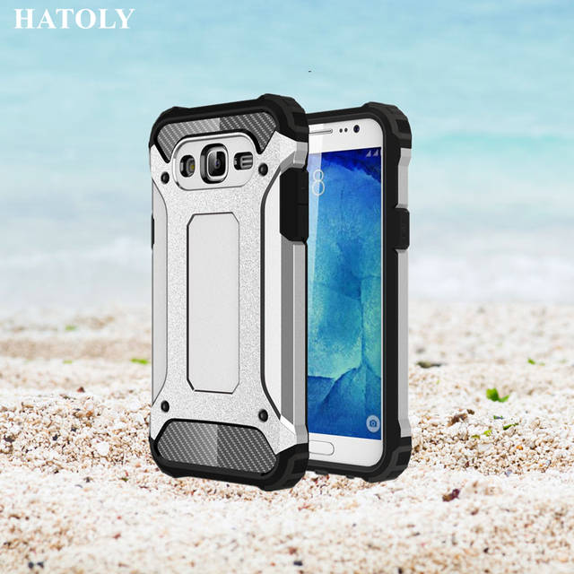 7d8c42ce228 HATOLY For Capa Samsung Galaxy J7 2015 Case Galaxy J7 2015 Heavy Armor Slim  Hard Cover