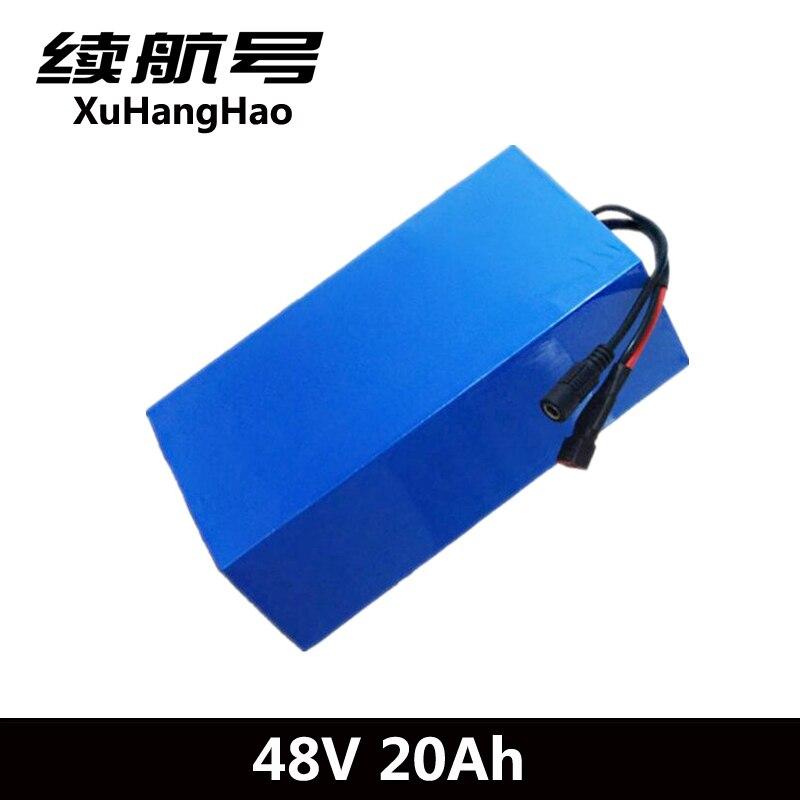XuHangHao 48v 20ah 48V 1000W lithium battery 48V 20AH ebike battery electric bike battery with 30A BMS