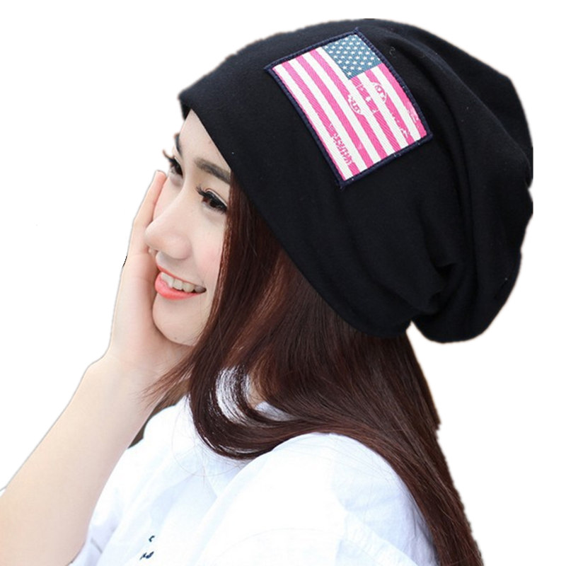 New arrival women autumn winter hats fashion patch beanie high quality cotton warm skullies turban gorros mujer invierno bonnet 2016 new fashion letter gorros hats bonnets