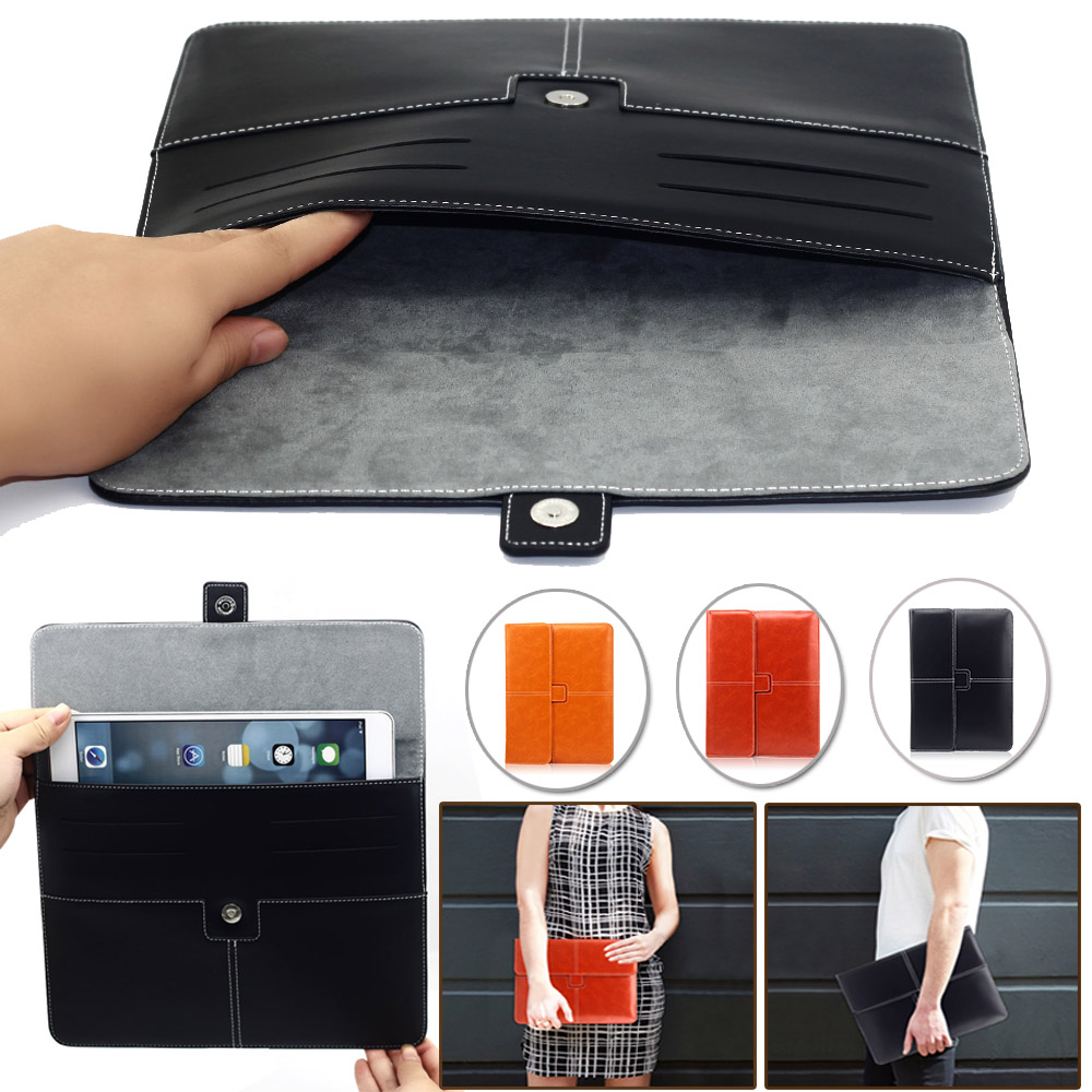 Universal 9-10 High Quality PU Leather Tablet Smart Case Cover Ultra Slim For APPle iPad mini 1 2 3 for samsung tablet PC bags universal protective pu leather case for 9 10 tablet pc orange grey
