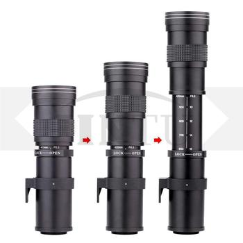 JINTU 420-800mm f/8.3-16 Telephoto Zoom Lens for Nikon DSLR Camera D5100 D5300 D5200 D7500 D3300 D3400 D3200 D90 D7200 D5600 D3X