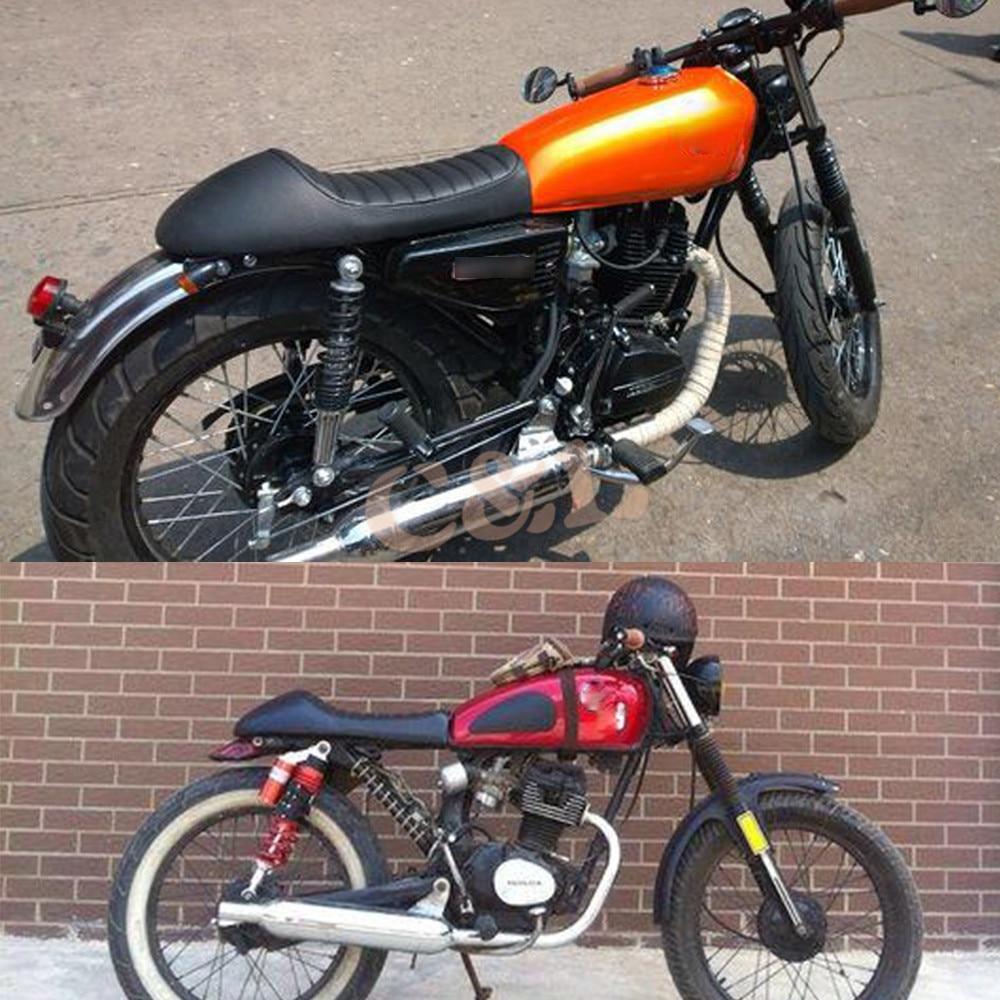 1 Set Black Vintage Hump Cafe Racer Seat For Honda CB200 CB350 CB400 CB500 CB550 CB750 On Aliexpress