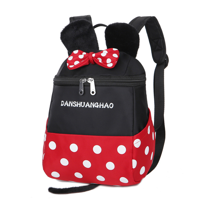 Children Cartoon Minnie School Bags For Girls School Backpacks 2017 Fashion Boys Bags For Kids Kindergarten Bag Mochila Escolar
