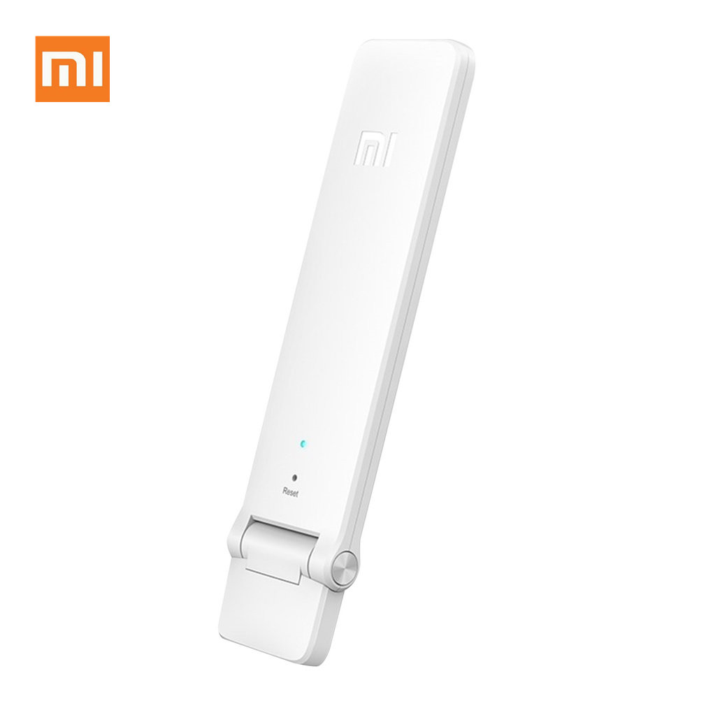 Xiaomi WI-FI Repetidor Extensor Amplificador 2 Repitidor 2 Universal Extensor Wi-Fi 300 Mbps 802.11n WI-FI Sem Fio Sinal Extende