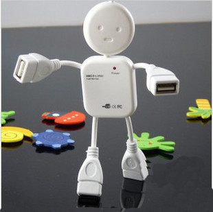 Human style USB HUB 4 port, support Windows 98/2000/ME/XP, plug and play, no need driver