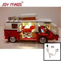 Light Bricks Led Building Blocks Kit For Creator 10220 The Volkswagen T1 Camper Van Model Is