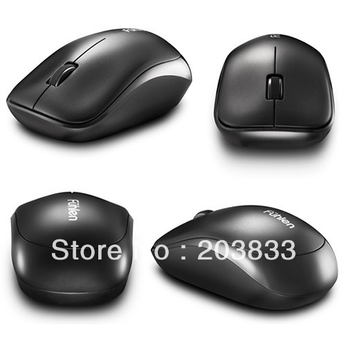 3 Color Wireless high quality Optical Mouse with sensor, long battery life computer mouse