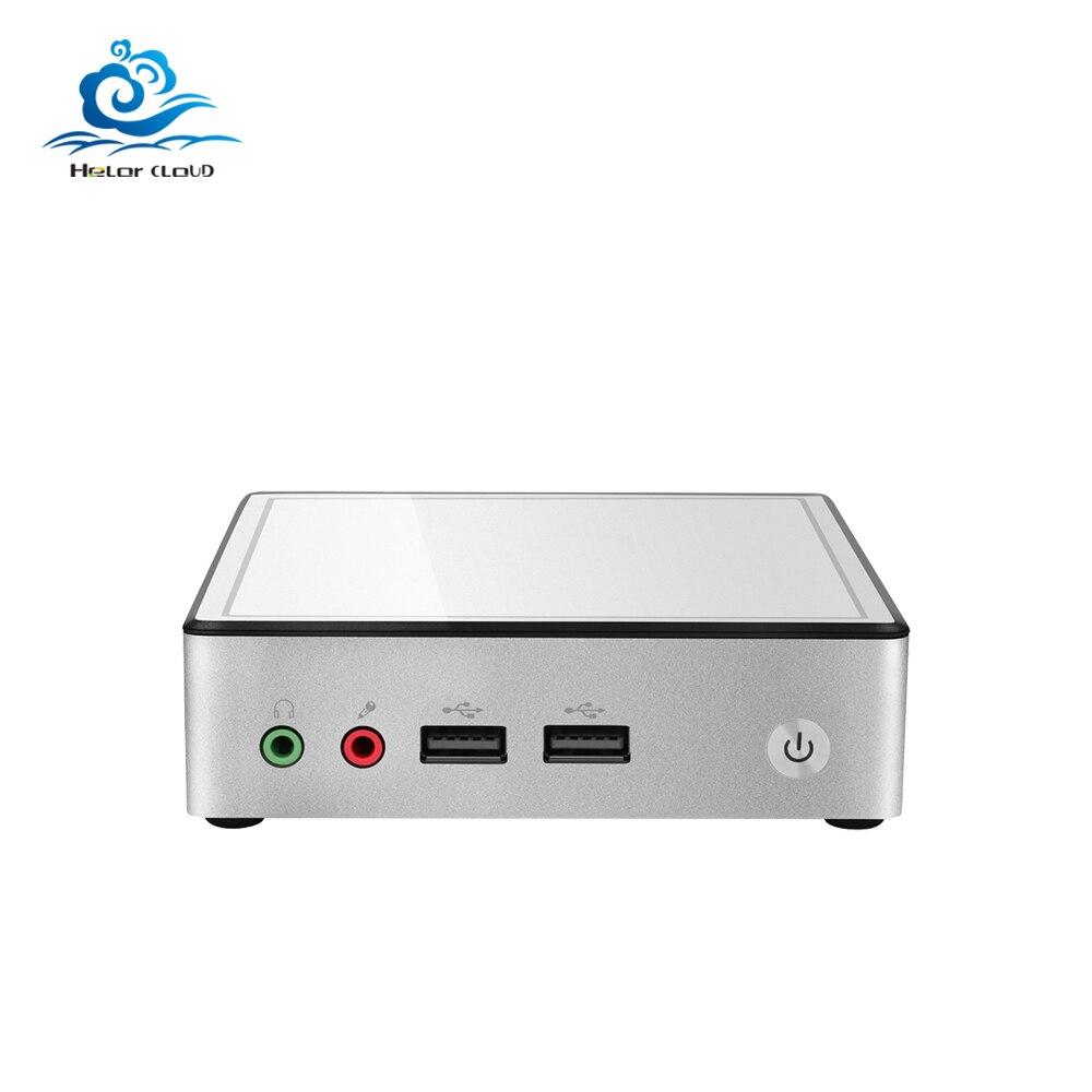 HLY Ultra thin Mini PC Core i3 4010Y Celeron 2955U 1.40GHz Mini computer Windows PC HDMI Wifi usb minipc