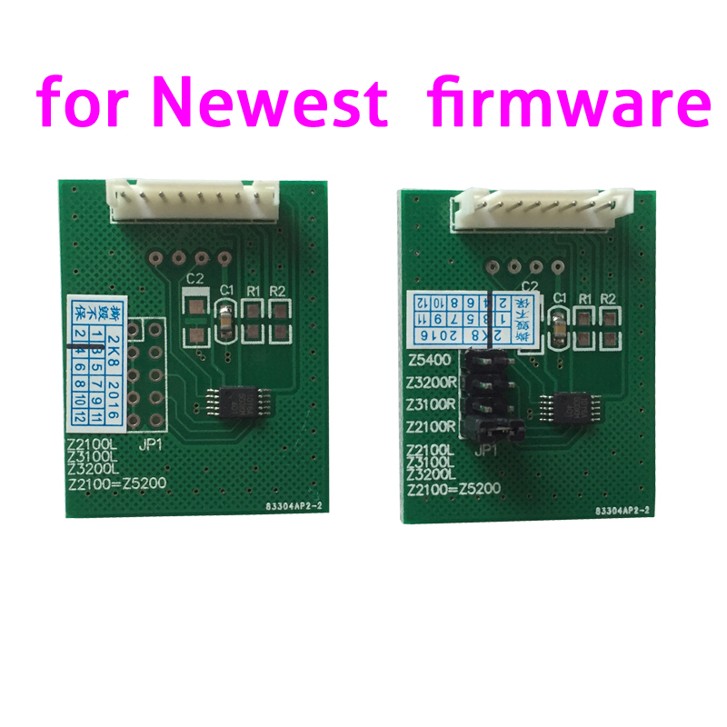 ФОТО 2017 Newest Chip Cecoder chip restore card for HP Z3200 Z3100 Z2100 Z5200etc
