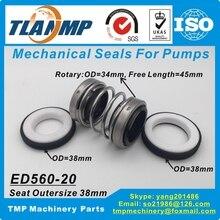 Double-Face-Tlanmp Mechanical-Seals Shaft 38mm 560D-20S Size-20mm Ed560-20-S Ed560-20-S
