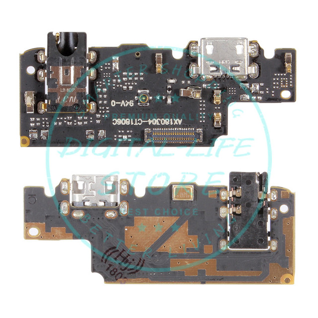 US $4 99 |For Xiaomi Redmi Note 5 Pro Charging Port Dock Connector Redmi  Note5 USB Charging Port Flex Cable Module Replacement Spare Parts-in Mobile