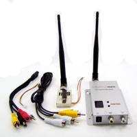 Передатчик только 44 г FPV системы 1.2 г 1.3 г 1000 МВт 4ch Беспроводной передатчик 12 канальный приемник профессиональный комплект для RC qav250 Drone