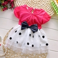 New Baby Dress Summer Cute Fashionable Baby Infant Dress Cotton Beautiful bow Princess Dress 0-2 Years