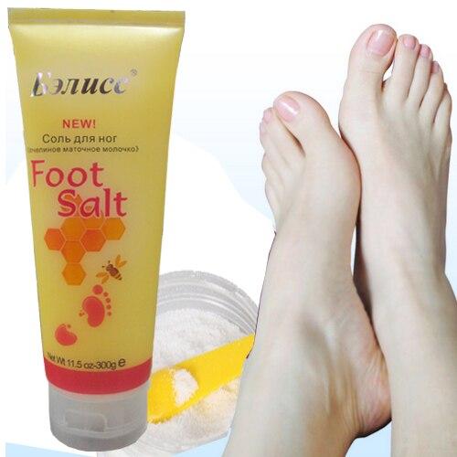 Honey Foot Bath Skin Care Deeply Cleanser Moisturizing for Foot Massage Salt 300g Free Shipping Cooler