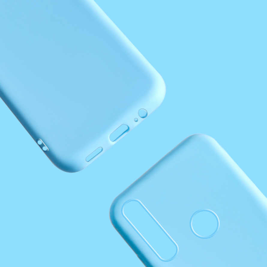 Cho Fundas Huawei P Smart Z Ốp Lưng Silicone 3D TPU Mềm Dẻo Dễ Thương Kẹo Dán Lưng Điện Thoại Ốp Lưng Cho Huawei P smart Z STK-LX1 Psmart Z Túi