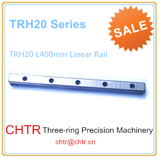 High Precision Low  Manufacturer Price 1pc TRH20 Length 400mm Linear Guide Rail Linear Guideway for CNC Machiner metal frame linear guide rail for xzy axix high quality precision prusa i3 plus creality 3d cr 10 400 400 3d printer diy kit