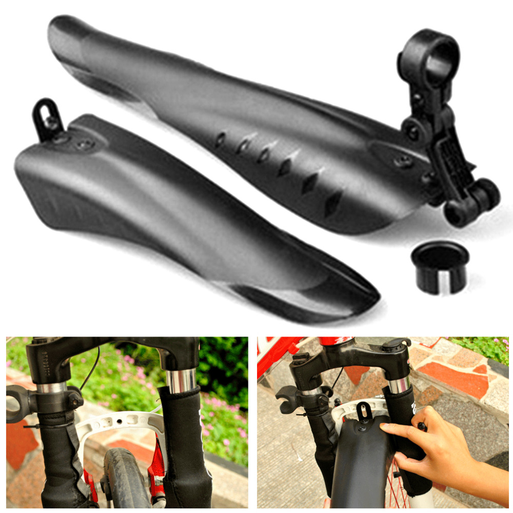 Universal Outdoor Bike Bicycle Mudguard Plastic Lightweight Bike Set Mud Guards Wings For Bicycle Cycling Accessories
