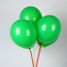 Green balloons 50pcs/lot 10inch 2.2g latex ballons merry Christmas balloon babyshower birthday party decorations kids
