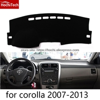 Dashboard Mat Protective Pad Shade Cushion Photophobism Pad Car Styling Accessories For Toyota Corolla Corolla EX