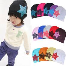 Spring Summer Baby Beanie Cotton Knitted Toddlers Cap Baby Kids Hat Caps Little Star Crochet Baby Hat Girl Boy Cap Head Wear Hat(China)