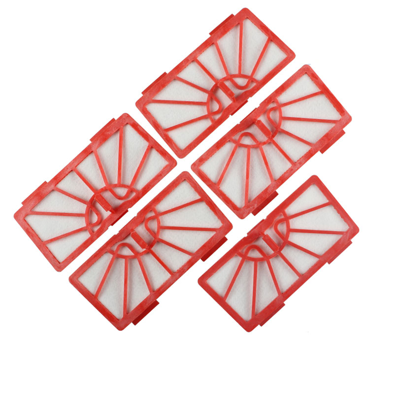 5PACK REPLACEMENT FILTER FOR NEATO XV-11 XV-12 XV-15 XV-14 XV-21 XV-Signature Signature Prp RED FILTERS FOR NEATO neato spiral blade brush 6 piece brush blade and 1piece squeegee replacement pack xv 11 xv 12 xv 14 xv 15 xv 21